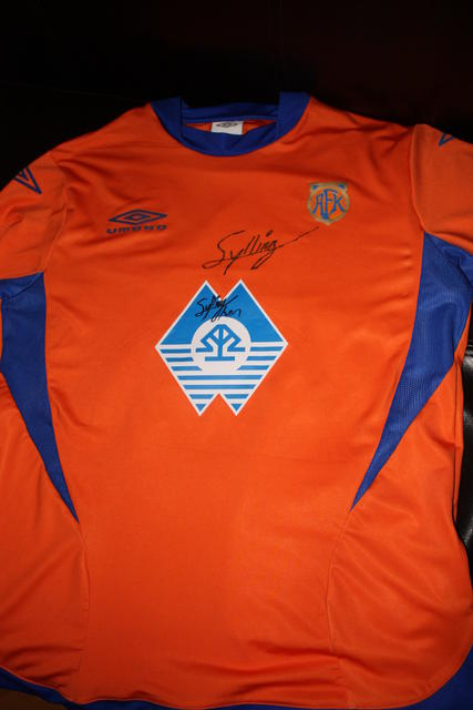 Sylling Olsen matchworn Europa League