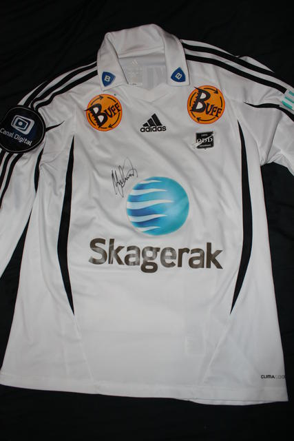 Myklebust home shirt