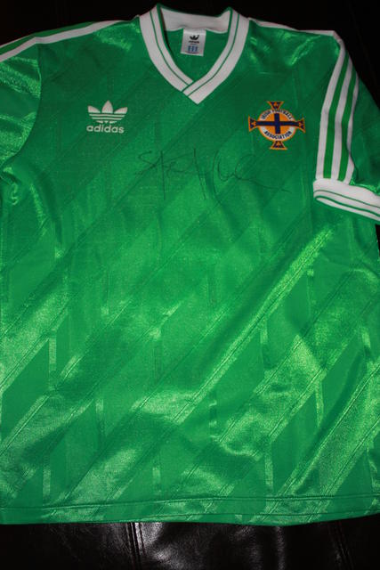 Northern Ireland 1986 home shirt